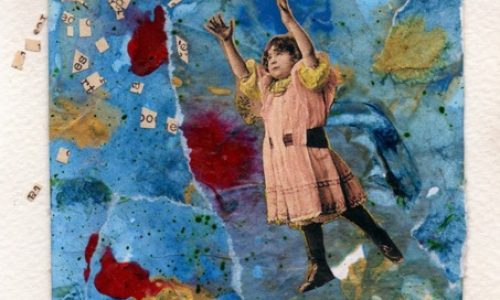 OM.2011.198 – ADRIANA LANGTRY CARRERI – Italy – Collage Centennial
